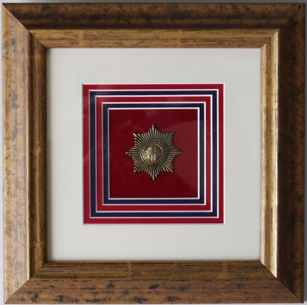 Framed Cap badge